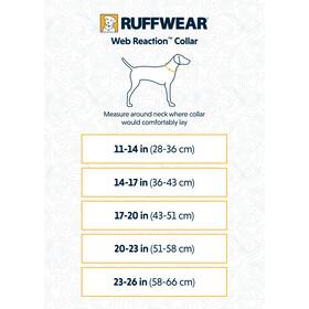 Ruffwear Web Reaction Cuello, azul/rojo